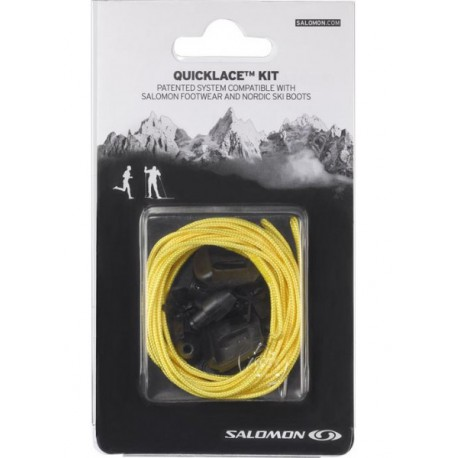 Salomon QuickLace Kit yellow 326675