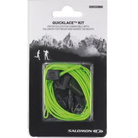 Salomon QuickLace Kit green 326677