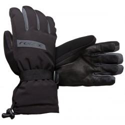 Relax RR09C černá/šedá pánské lyžařské rukavice