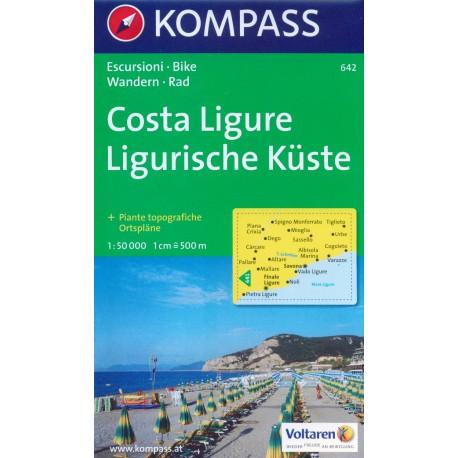 642 Costa Ligure 1:50 000