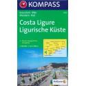 Kompass 642 Costa Ligure 1:50 000 turistická mapa