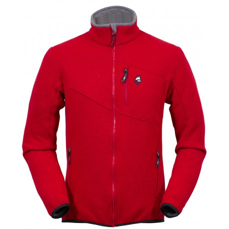High Point Skywool Sweater red