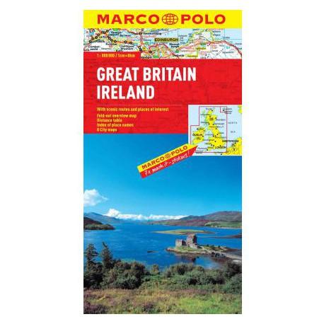 Marco Polo Velká Británie, Irsko 1:800 000