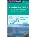 Kompass 690 Alto Garda, Ledro, Riva del Garda, Malcesine, Torbole 1:25 000 turistická mapa