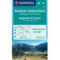 Kompass 625 Sextner Dolomiten/Dolomiti di Sesto 1:25 000 turistická mapa