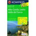 Kompass 096 Alto Garda, Ledro, Valle del Sarca 1:25 000 turistická mapa