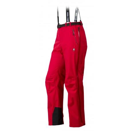 High Point Protector Pants red pánské nepromokavé kalhoty BlocVent Pro 3L DWR