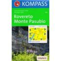 Kompass 101 Rovereto, Monte Pasubio 1:50 000 turistická mapa