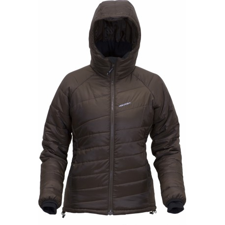 High Point Thermal dark brown dámská zimní bunda Climashield Apex