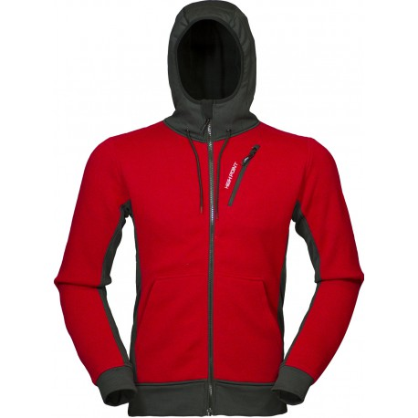 High Point Woolcan Hoody red