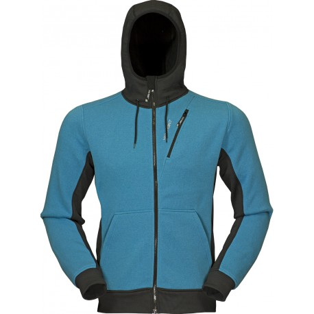 High Point Woolcan Hoody blue moon