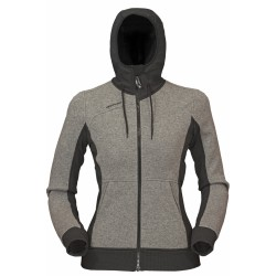 High Point Woolcan Lady Hoody grey