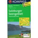 Kompass 17 Salzburger Seengebiet, Kobernausserwald 1:50 000 turistická mapa