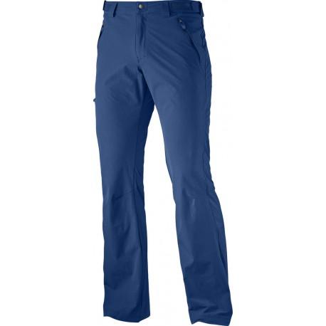 a5d1adbb8125 ... pánské lehké softshellové kalhoty. Salomon Wayfarer Pant M midnight  blue 363385