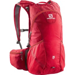 Salomon Trail 20 bright red 379980 běžecký batoh