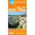 ORAMA Kea/Tzia 1:35 000 turistická mapa