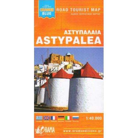 ORAMA Astypalea 1:40 000 turistická mapa