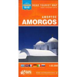 ORAMA Amorgos 1:65 000 turistická mapa