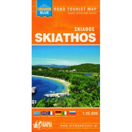 ORAMA Skiathos 1:25 000 turistická mapa