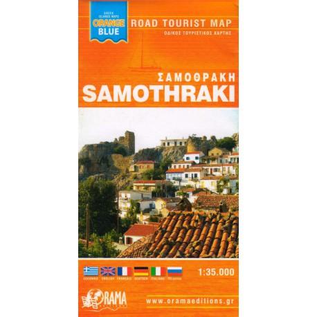ORAMA Samothraki 1:35 000 turistická mapa