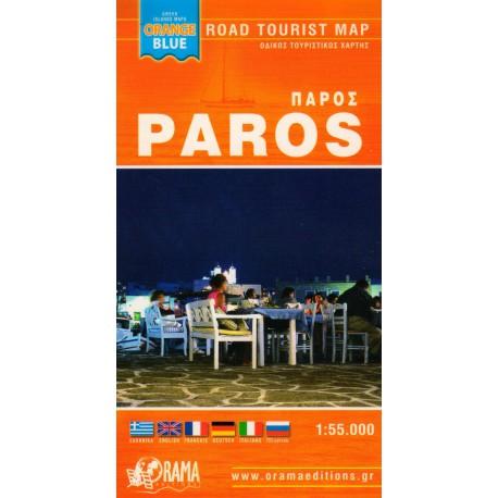 ORAMA Paros, Antiparos 1:55 000 turistická mapa