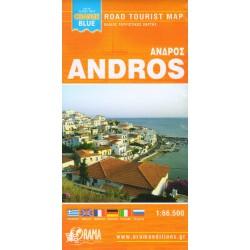 ORAMA Andros 1:66 500 turistická mapa