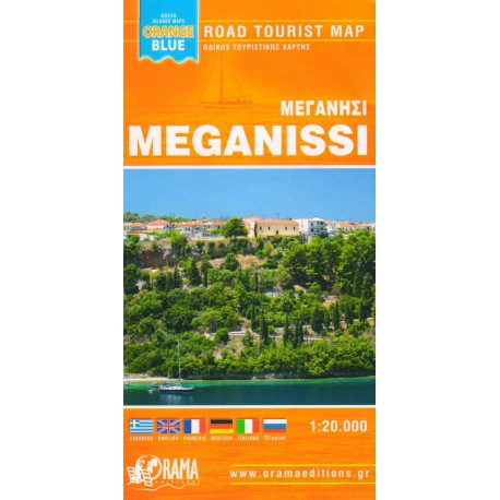 ORAMA Meganissi 1:20 000 turistická mapa
