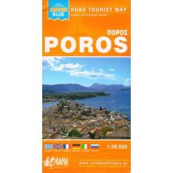 ORAMA Poros 1:20 000 turistická mapa
