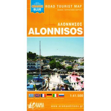 ORAMA Alonnisos 1:41 500 turistická mapa