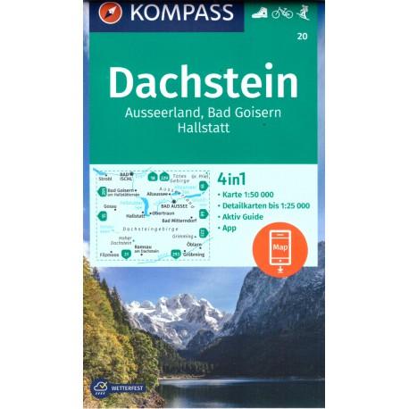 Kompass 20 Dachstein 1:50 000