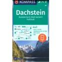 Kompass 20 Dachstein, Ausseerland, Bad Goisern, Hallstatt 1:50 000 turistická mapa