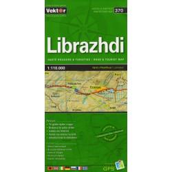 Vektor 370 Albánie Librazhdi 1:110 000 automapa