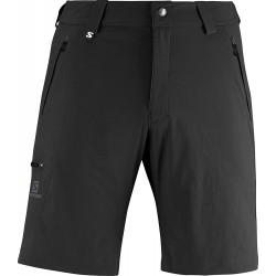 Salomon Wayfarer Short M black 363391 pánské lehké softshellové šortky
