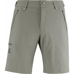 Salomon Wayfarer Short M dark titanium 363393 pánské lehké softshellové šortky