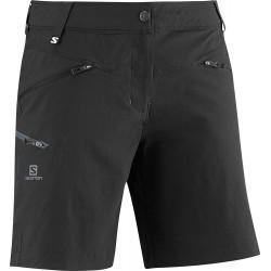 Salomon Wayfarer Short W black 363406 dámské lehké softshellové šortky