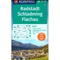 Kompass 31 Radstadt, Schladming, Flachau 1:50 000 turistická mapa