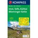 Kompass 35 Imst, Telfs, Kühtai, Mieminger Kette 1:50 000 turistická mapa