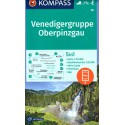 Kompass 38 Venedigergruppe, Oberpinzgau 1:50 000 turistická mapa