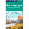 Kompass 39 Glocknergruppe, Hohe Tauern/Vysoké Taury 1:50 000 turistická mapa