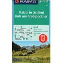 Kompass 46 Matrei in Osttirol, Kals am Grossglockner 1:50 000 turistická mapa