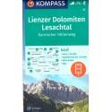 Kompass 47 Lienzer Dolomiten, Lesachtal 1:50 000 turistická mapa