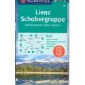 Kompass 48 Lienz, Schobergruppe, NP Hohe Tauern/Vysoké Taury 1:50 000 turistická mapa
