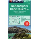 Kompass 49 NP Hohe Tauern/Vysoké Taury jih, Mallnitz, Obervellach 1:50 000 turistická mapa