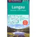 Kompass 67 Lungau, Radstädter Tauern, Maltatal 1:40 000 turistická mapa