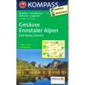 Kompass 69 Gesäuse, Ennstaler Alpen, Pyhrnpass, Eisenerz 1:35 000 turistická mapa