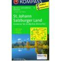 Kompass 80 St. Johann/Salzburger Land 1:50 000 turistická mapa
