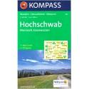 Kompass 212 Hochschwab, Mariazell, Eisenwurzen 1:50 000 turistická mapa