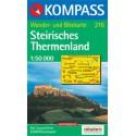 Kompass 216 Steirisches Thermenland 1:50 000 turistická mapa