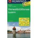 Kompass 116 Vierwaldstätter See, Luzern 1:40 000 turistická mapa