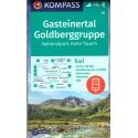 Kompass 40 Gasteiner Tal, Goldberggruppe 1:50 000 turistická mapa